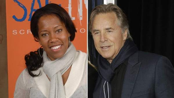 Regina King y Don Johnson