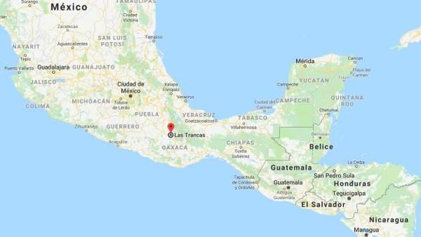 Las Trancas, Oaxaca, México.