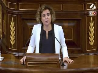 Dolors Montserrat en el Congreso de los Diputados