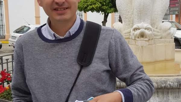 Manuel Sánchez, vendedor de la ONCE que ha repartido 600.000 euros en San Telmo.