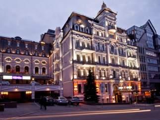 El hogar del Madrid en Kiev