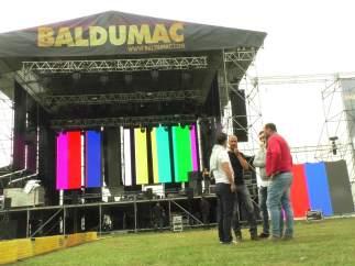 Escenario de Baldumac