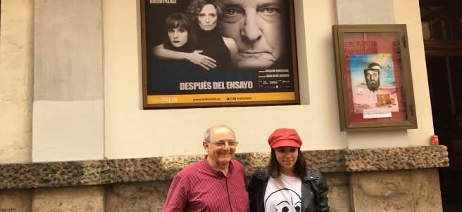Presentación de 'Después del ensayo' en el Teatre Talia con Gutiérrez Caba
