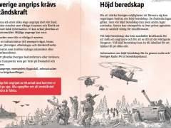 """""""Estad preparados para la guerra"""", el panfleto que está llegando a todos los hogares suecos"""