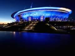 El estadio de San Petersburgo, con un sistema de climatización especial.