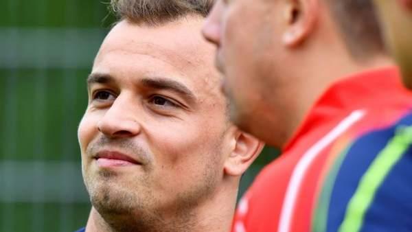 Xerdan Shaqiri, estrella de la selección suiza.