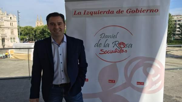 Daniel de la Rosa presenta su precandidatura, 24-5-18