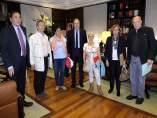 Reunión de Herrera con las plataformas por la sanidad