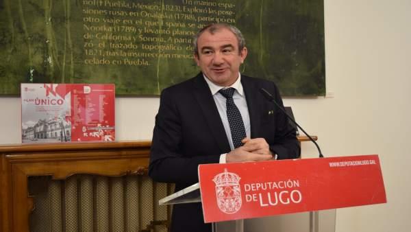 Nota De Prensa E Foto. O Goberno Da Deputación Leva Ao Pleno Investimentos De Má