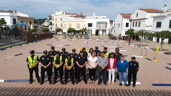 El nuevo parque infantil de tránsito de Menorca