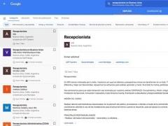 Llega a España la apuesta de Google por incorporar ofertas de empleo a su buscador