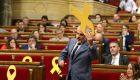 Tensión por la retirada de un lazo en el Parlament