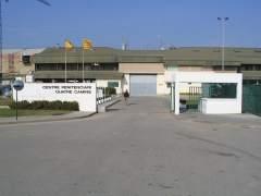 El exterior de la cárcel de Quatre Camins en la Roca del Vallès (Barcelona).