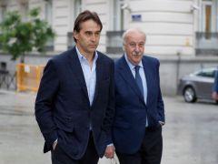 Lopetegui y Del Bosque declaran en la Audiencia Nacional por el caso Villar
