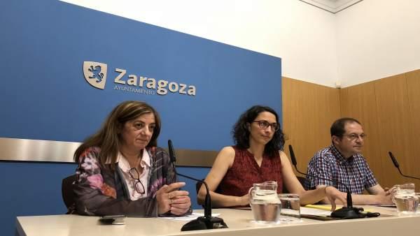 Presentación de la nueva convocatoria de subvenciones de Zaragoza