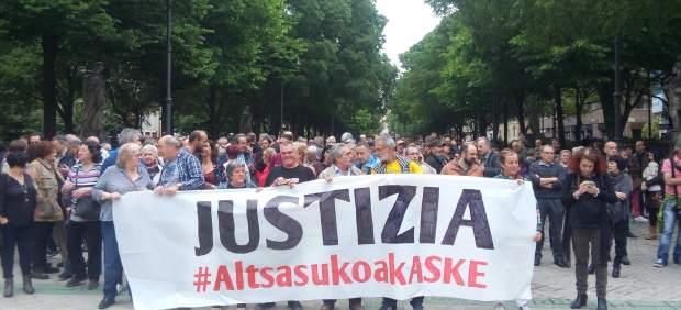 Multan con 600 euros a 6 condenados por intentar recusar con mala fe a los jueces del caso Alsasua