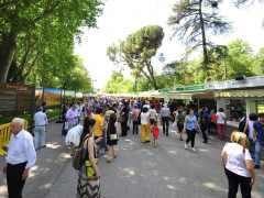 La Feria del Libro abre sus puertas a pesar de la lluvia