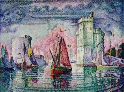 Le Port de la Rochelle Paul Signac