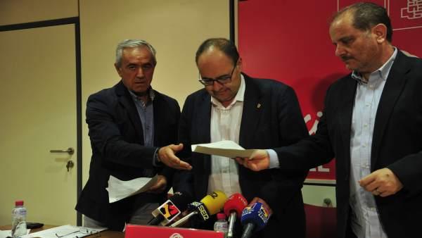 El portavoz del PSOE Teruel, José Ramón Morro, ha evaluado la legislatura local.