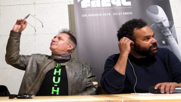 Chimo Bayo y Carlos Jean en Salamanca