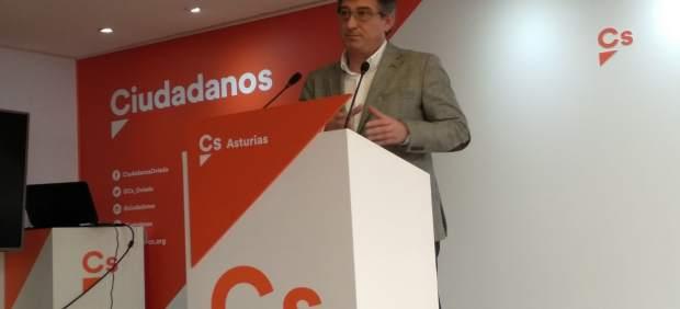 """Prendes (Cs) pide la convocatoria de elecciones para que """"sean los españoles"""" quienes decidan el futuro Gobierno"""