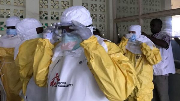 Equipos de MSF para combatir el ébola en República Democrática del Congo