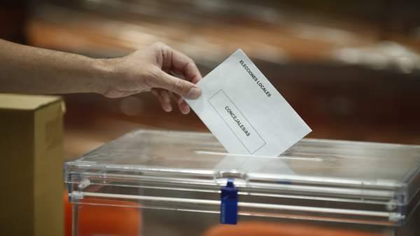 Voto nas eleccións municipais
