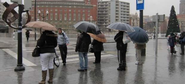 Lluvia en España