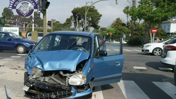 Los coches han sufrido daños de consideración