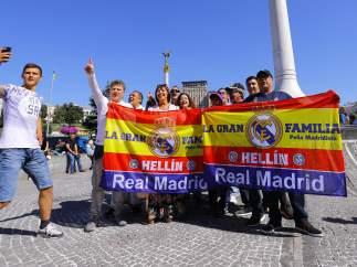 Fan zones de la final de Champions Real Madrid vs Liverpool en Kiev