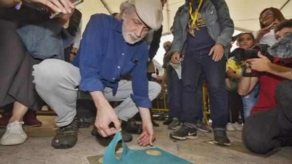 Fernando Trueba en el Festival de Cans, en O Porriño