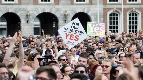 Victoria del 'sí' en Irlanda