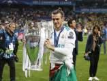 Gareth Bale, con la Decimotercera.