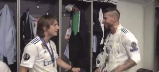 El Real Madrid celebra la decimotercera.