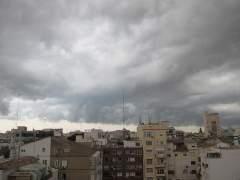 Alerta amarilla por lluvias, tormentas y granizo en gran parte de la península