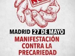 Miles de personas se manifiestan en Madrid contra la precariedad y la corrupción