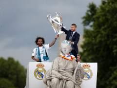 La celebración de la Champions del Real Madrid en Cibeles y el Bernabéu