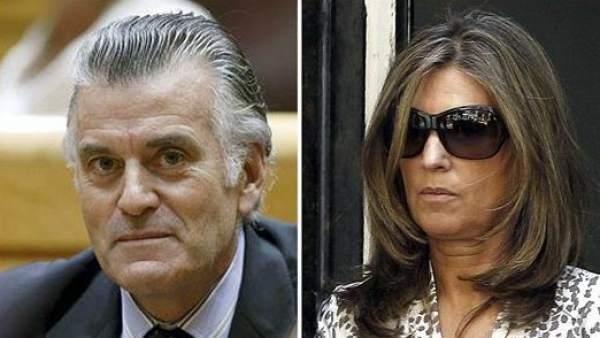 Luis Bárcenas y Rosalía Iglesias