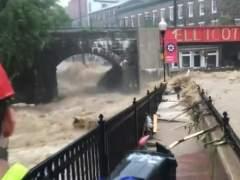 Las fuertes inundaciones vuelven a amenzar al estado de Maryland
