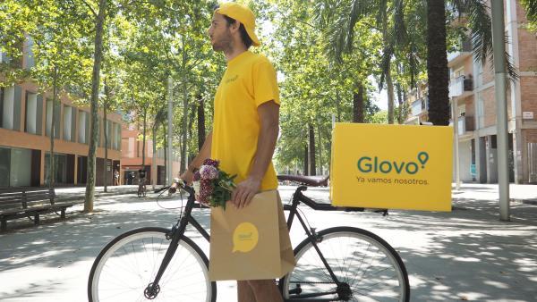 Imagen promocional de Glovo