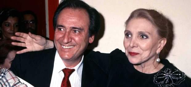 María Dolores Pradera con Manolo Escobar