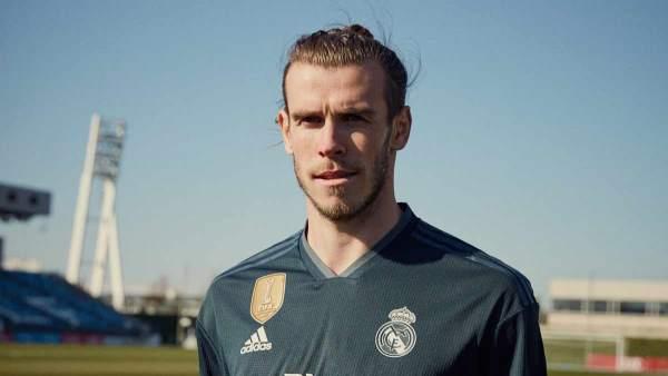 Bale, con la camiseta 2018/19