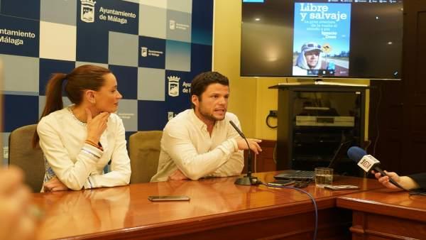 Pérez de Siles y el deportista Nacho Dean