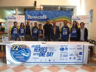 Nota Y Foto Presentación Reto Solidario Natación