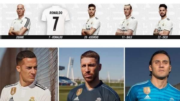 342f7e541edef La razón por la que sólo falta Cristiano Ronaldo en la promo de la nueva  camiseta