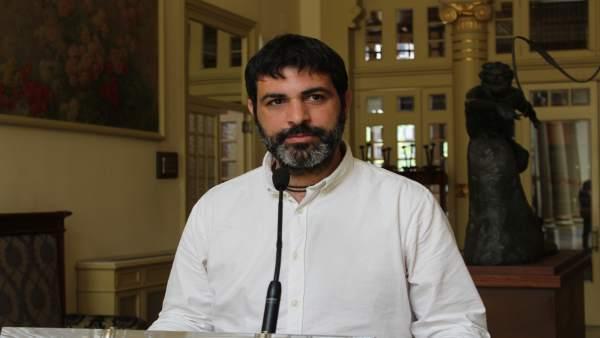 Josep Ferrà, en el Parlament (MÉS)