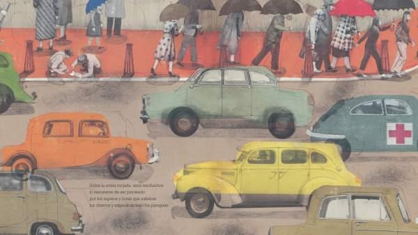 Ilustración de Page Tsou para 'El soldado de plomo', de SM.