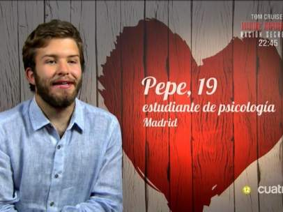 Pepe en 'First Dates'