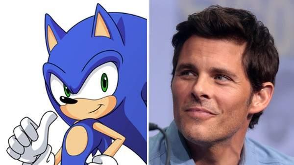 Sonic el Erizo y James Marsden.