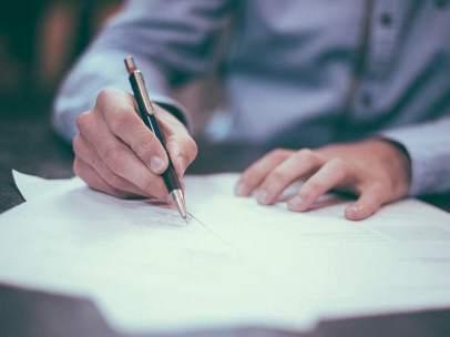 Firma de hipoteca